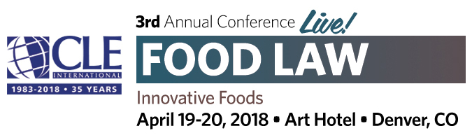 CLE Food Law