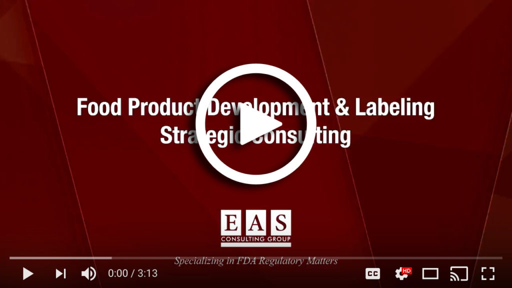 Food Product Development and Labeling