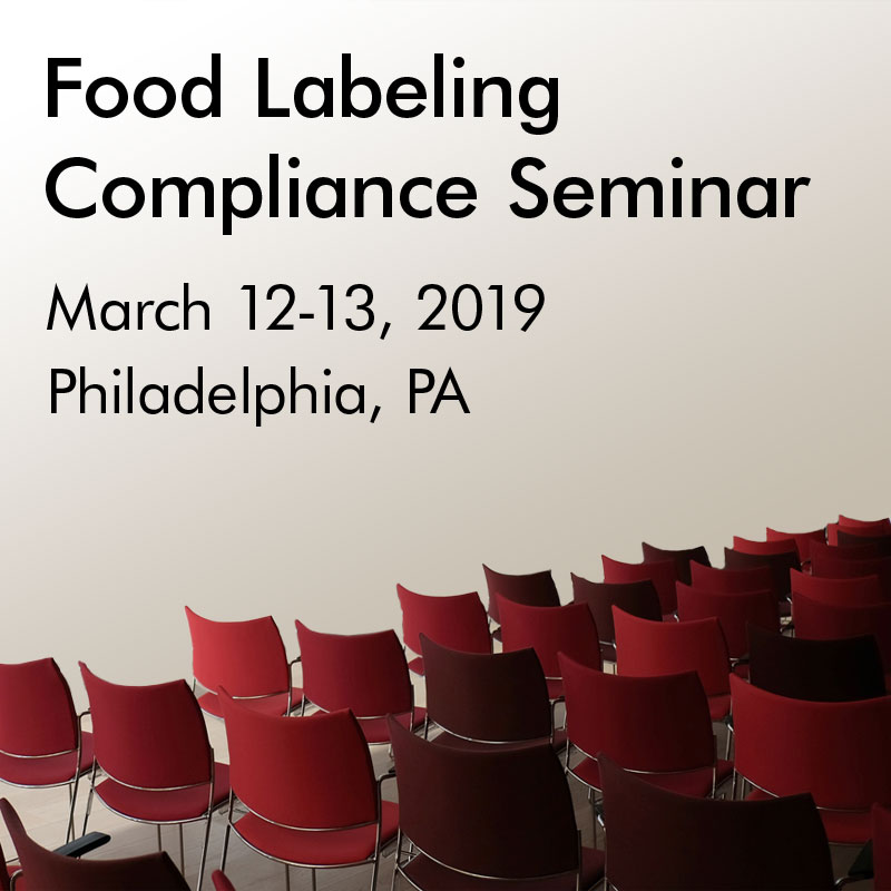 Food Labeling Seminar