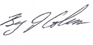 Bryan Coleman Signature