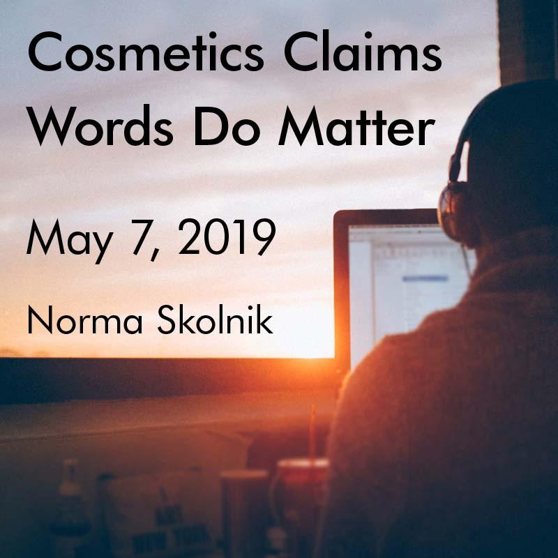 Webinar May 7, 2019
