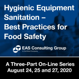 Product Seminar 2020 Equipment Sanitation Short Course