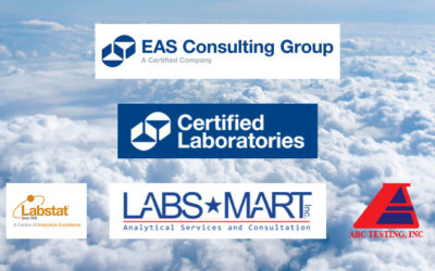 Did You Know? EAS is now aligned with Certified Laboratories and its subsidiaries, Labs-Mart, LabStat and ABC Testing