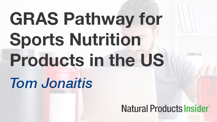 GRAS Pathway for Sports Nutrition Product Published in Insider