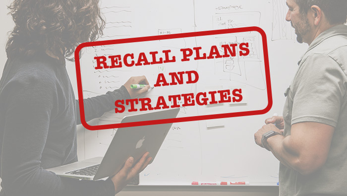 Recall Plans and Strategies