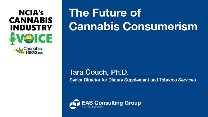 EAS Senior Director Tara Lin Couch, Ph.D. Featured in NCIA Podcast on the Future of Cannabis Consumerism