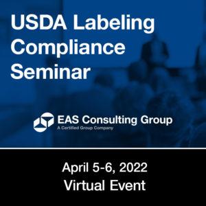 Seminar - USDA Labeling Compliance Seminar
