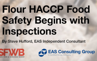 Flour HACCP Begins with Food Safety Inspections