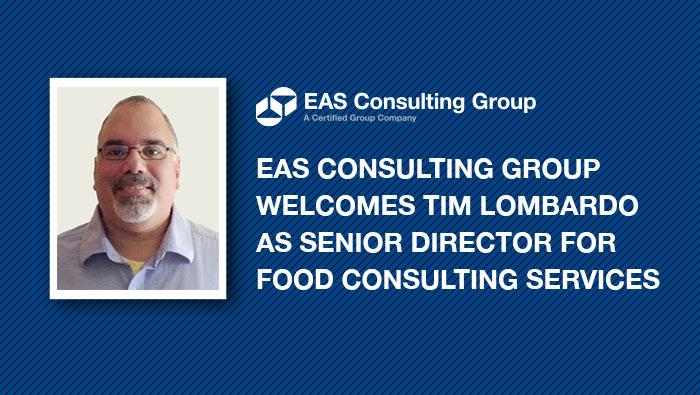 EAS welcomes Tim Lombardo