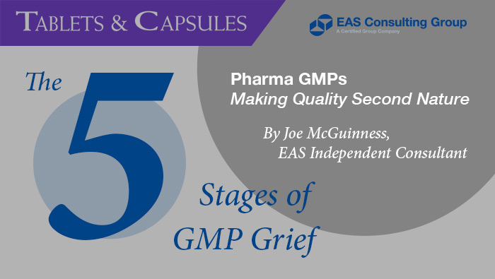 Do You Have GMP Grief?
