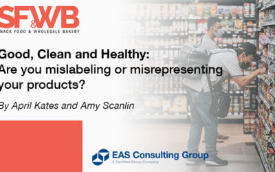 Do you Make Good, Clean and Healthy Claims on Your Product Labels?